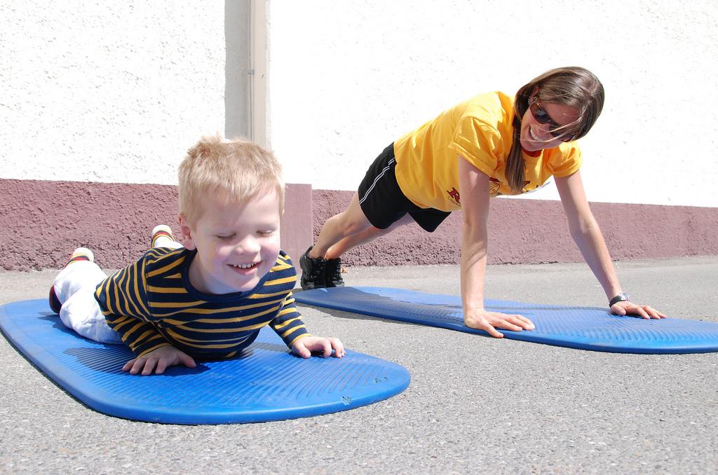 Pohybové aktivity při hubnutí
