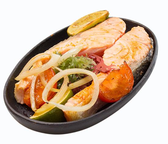 Paleo - zdravé tuky (losos)