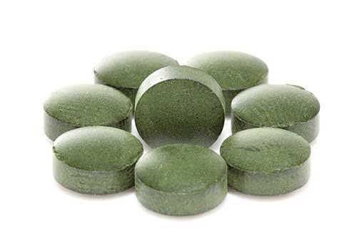 Spirulina - tablety