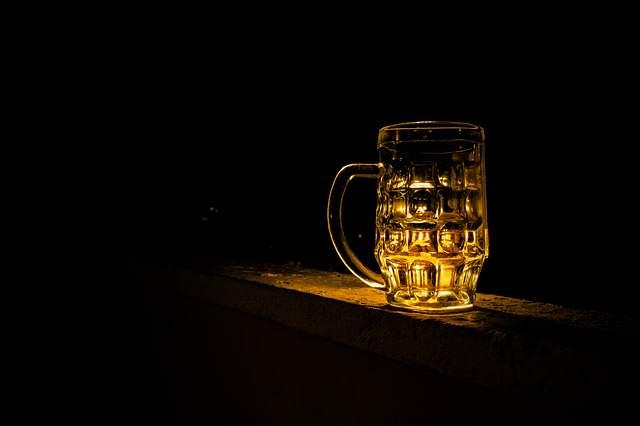 Pivo ve tmě