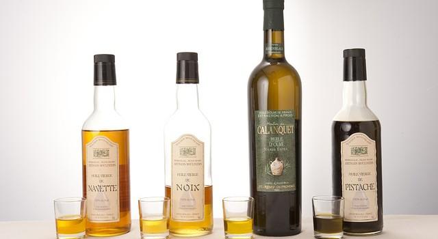 Různé druhy olejů
