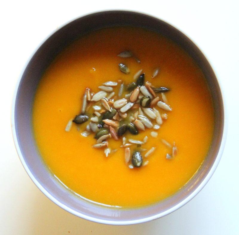 dýňová polévka hokkaido recept