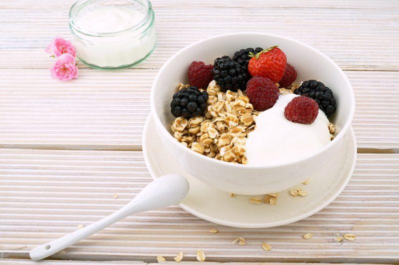 ovesné vločky k snídani