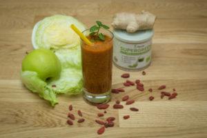 detoxikační smoothie s goji