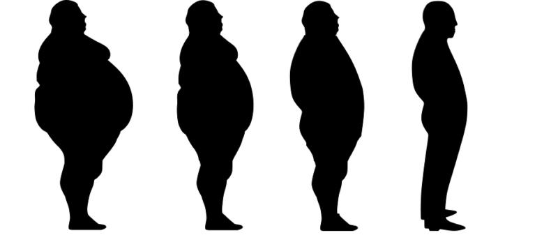 4 stupně obezity