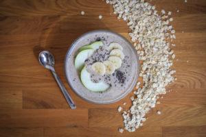 smoothie snídaně