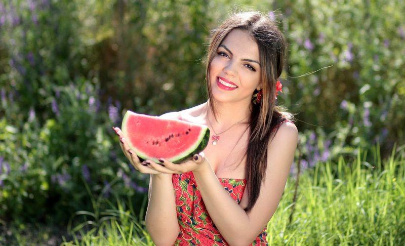 hubnutí s melounem