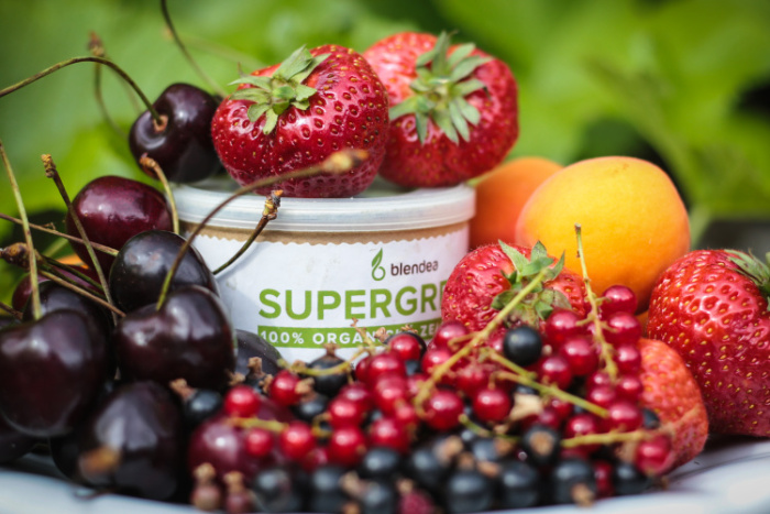 ingredience na zahradní smoothie