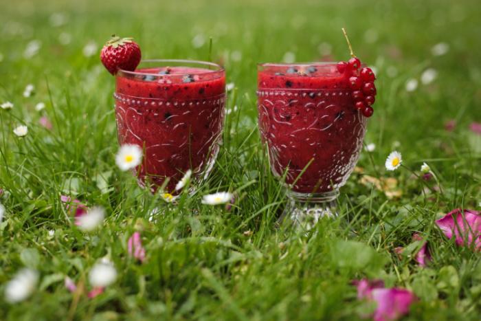 detoxikační smoothie ze zahradního ovoce
