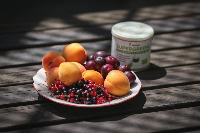 smoothie z meruňek a mirabelek
