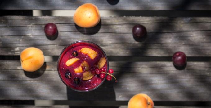 smoothie meruňka