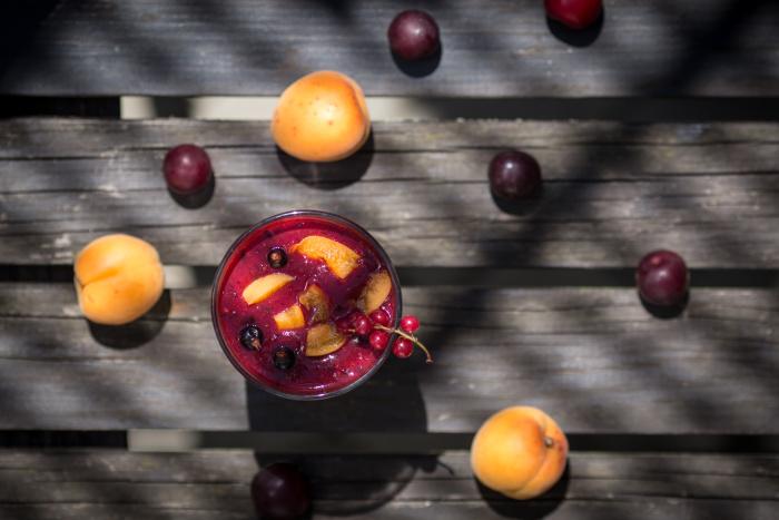 smoothie meruňka a švestky