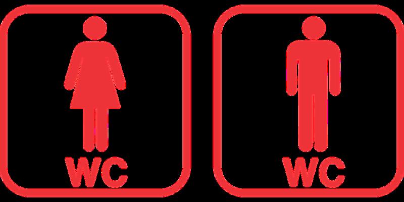 označení toalet