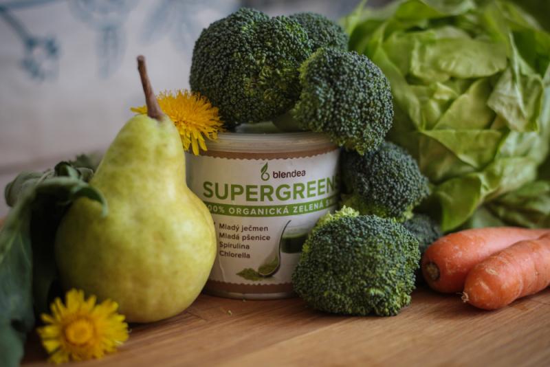 zeleninové smoothie na oběd
