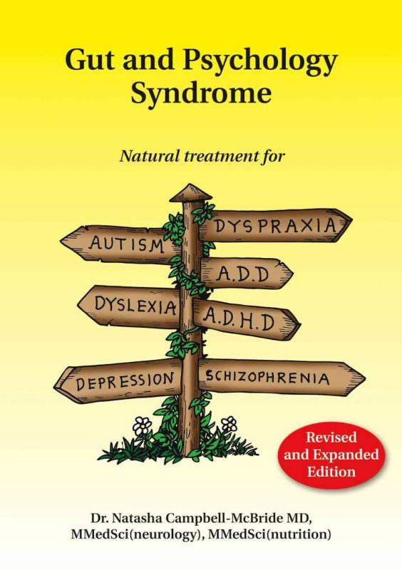 kniha Gut amd Psychology Syndrome