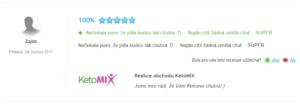 hodnocení ketomix