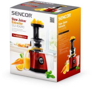 Šnekový odšťavňovač Sencor SSJ 4042RD