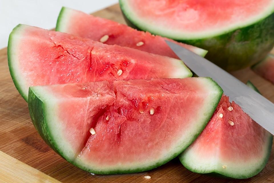červený vodní meloun
