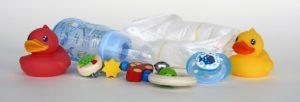 plastové výrobky s bisfenolem