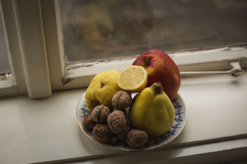 smoothie s kdoulí ořechy