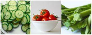 zelenina vhodná při hubnutí