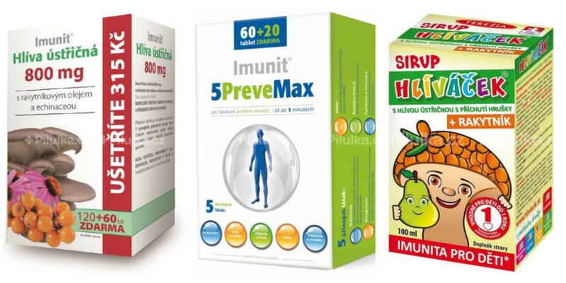doplňky z hlívy na podporu imunity