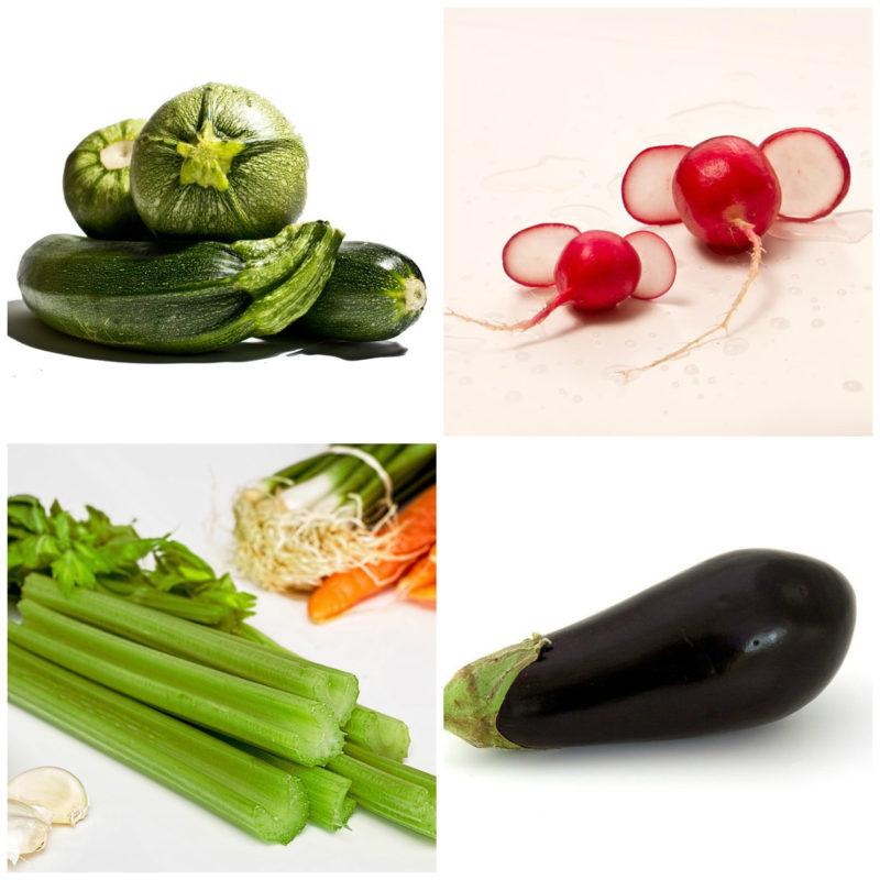 dietní zelenina s nízkým obsahem sacharidů