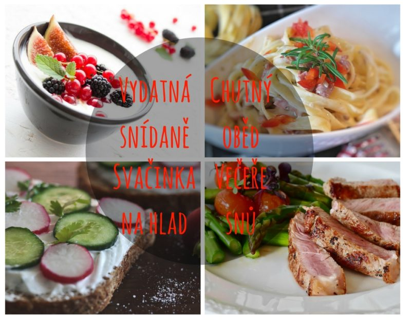 zdravý celodenní jídelníček