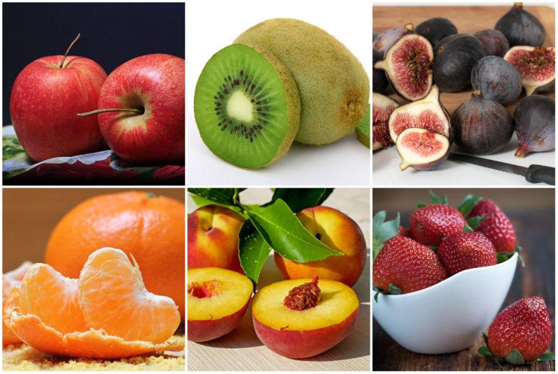 ovoce jako součást zdravého jídelníčku