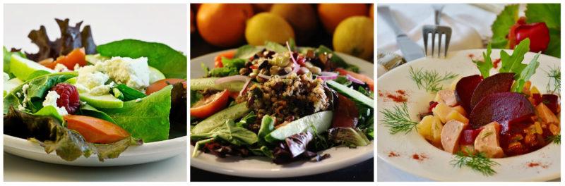 zdravé saláty