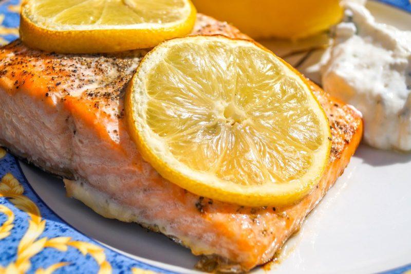 losos jako zdroj proteinů