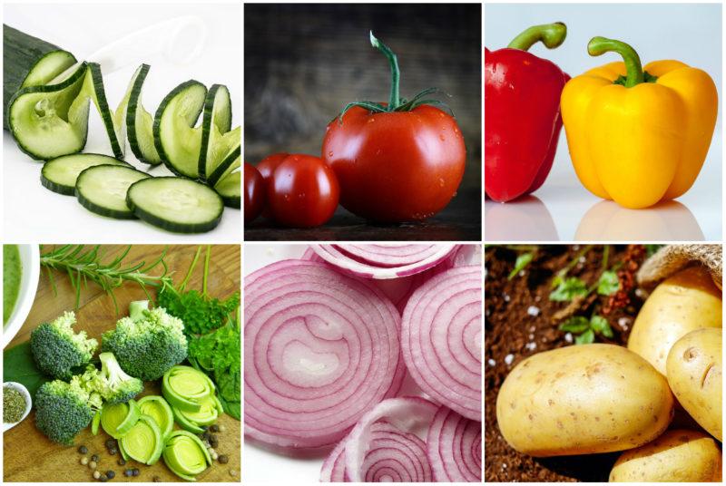 zelenina jako součást zdravého jídelníčku