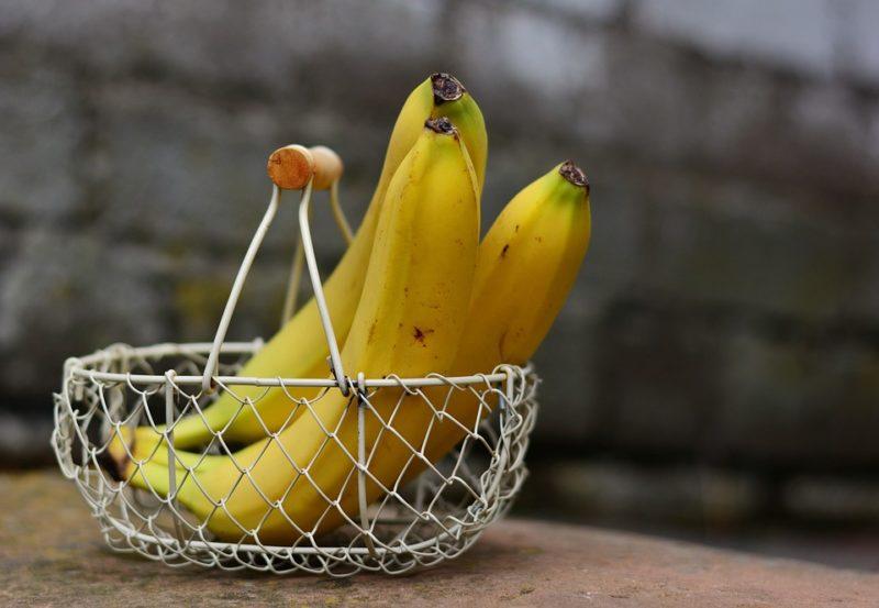 banán během průjmu