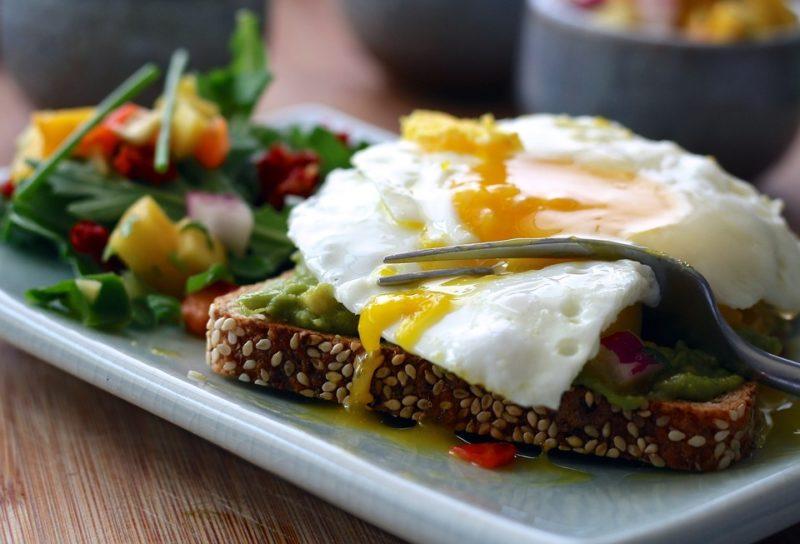 jídla z vajíček