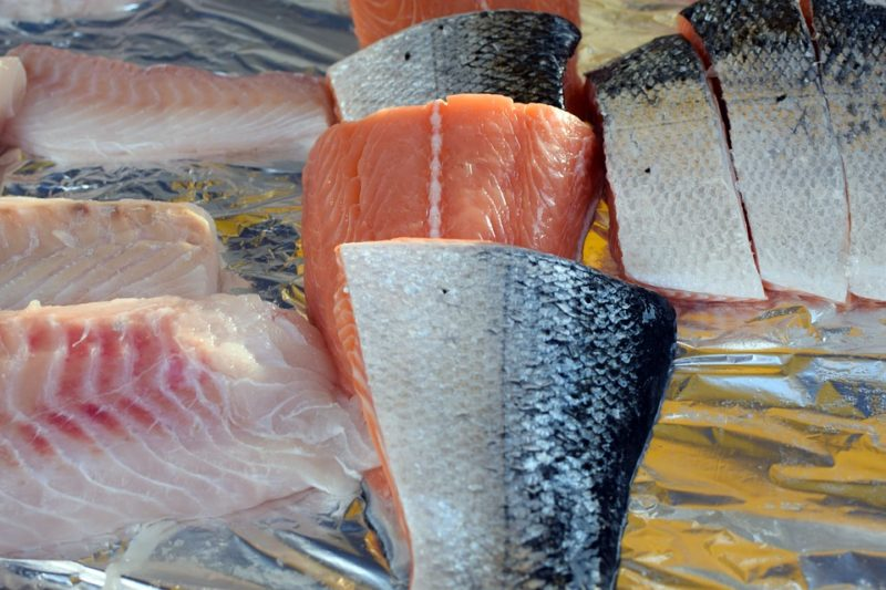 ryba, bezezbytková dieta