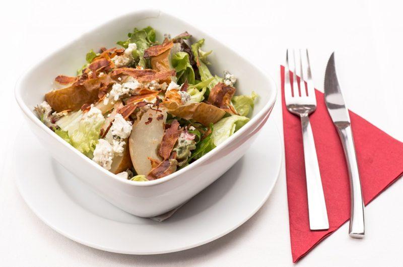 zeleninový salát během žlučníkové diety