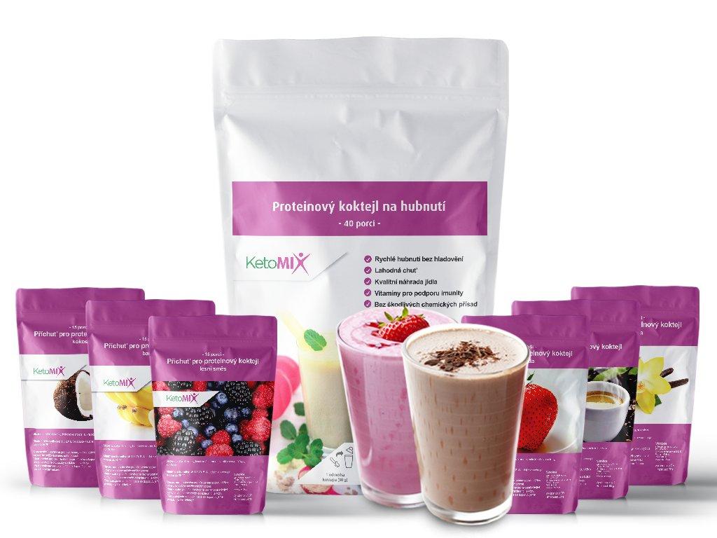 proteinová dieta ketomix