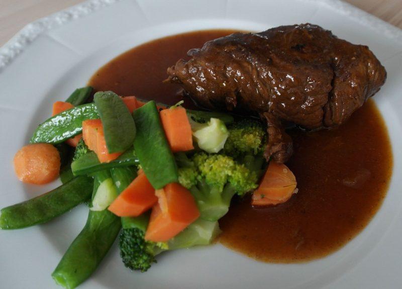 kuřecí roláda, bezebytková dieta