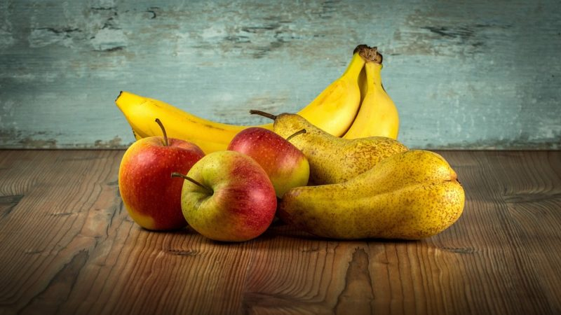 ovoce během diety při mononukleóze
