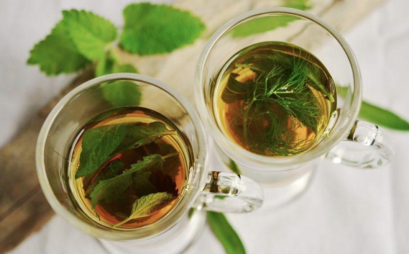 detoxikační čaj ze šalvěje