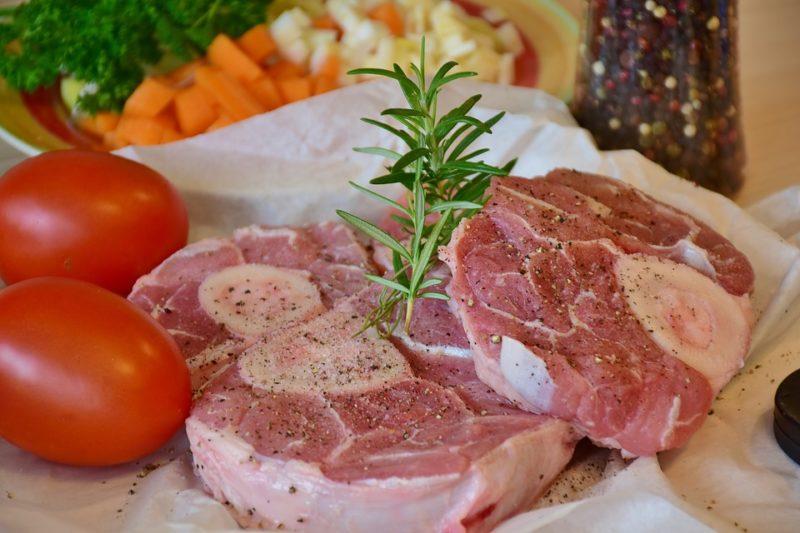 telecí maso během kolonoskopické diety