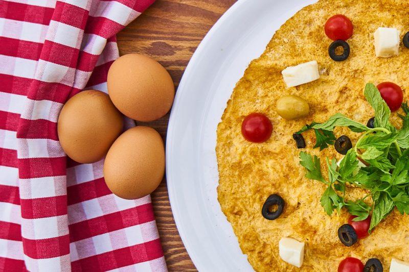 nízkosacharidová omeleta