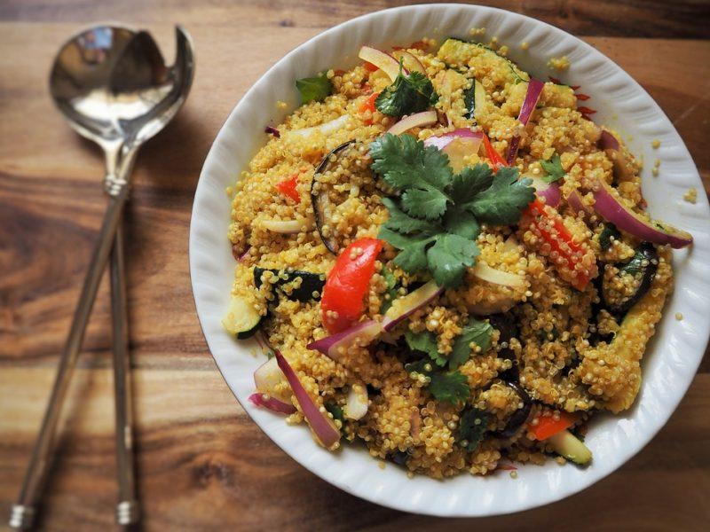 zdroj bílkovin quinoa