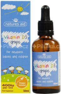 vitamín D3 pro děti