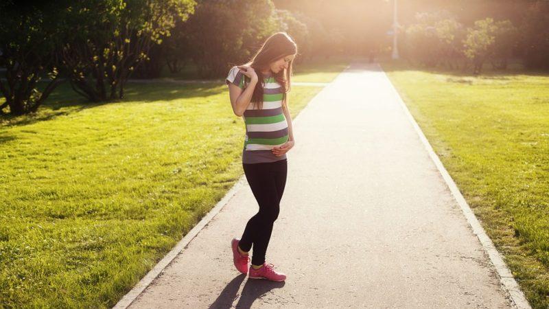 pohyb během těhotenství