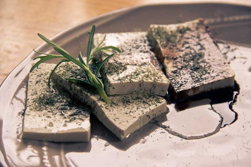 tofu - zdroj bílkovin