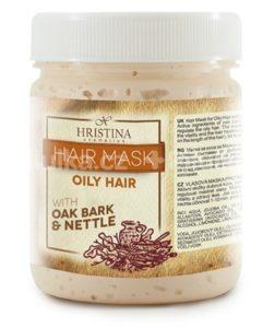 olejová vlasová maska