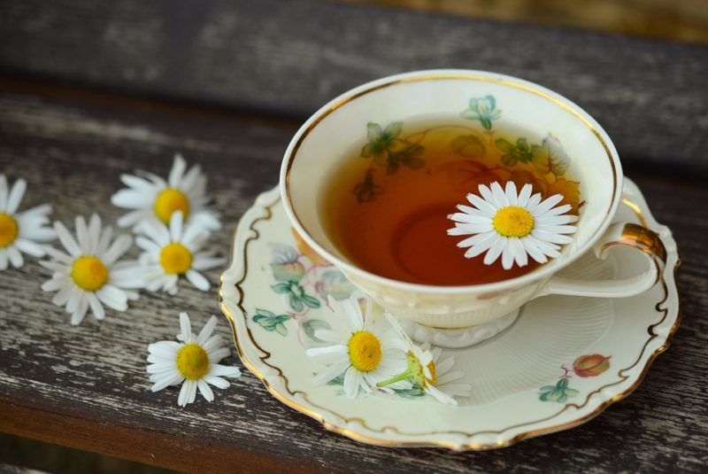 bylinkový čaj na spaní