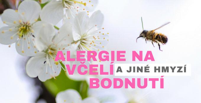 alergie na včelí bodnutí