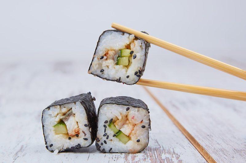 zdroj jodu sushi